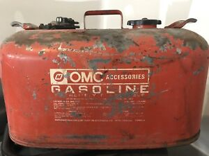Gas Can for Johnson or Evinrude