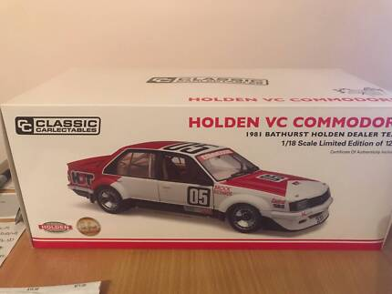Die cast models 1:18th scale Holdens