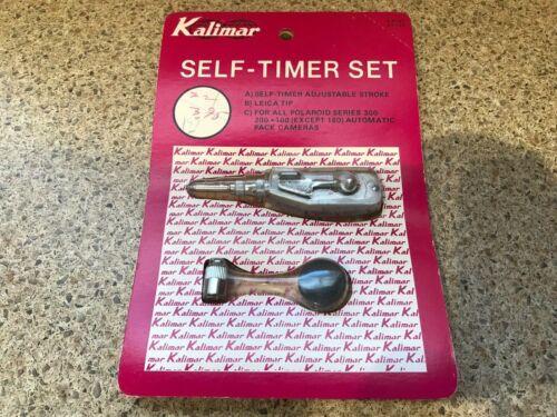 Vintage Kalimar self timer adjustable stroke shutter release K-5140 67-120 NOS