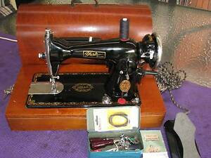 YORK Straight Stitch Sewing Machine. Perfect condition. Serviced Kotara Newcastle Area Preview