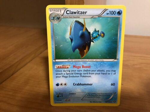 XY146 XY-Promo Clawitzer Wummer EN NM Pokemon