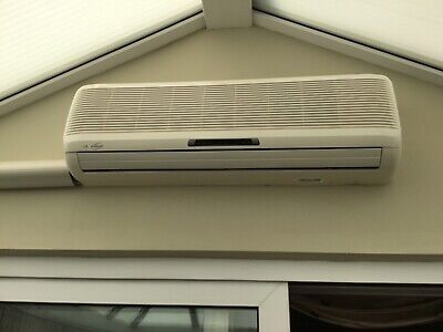 LG inverter air conditioning unit and low noise condenser - collection only