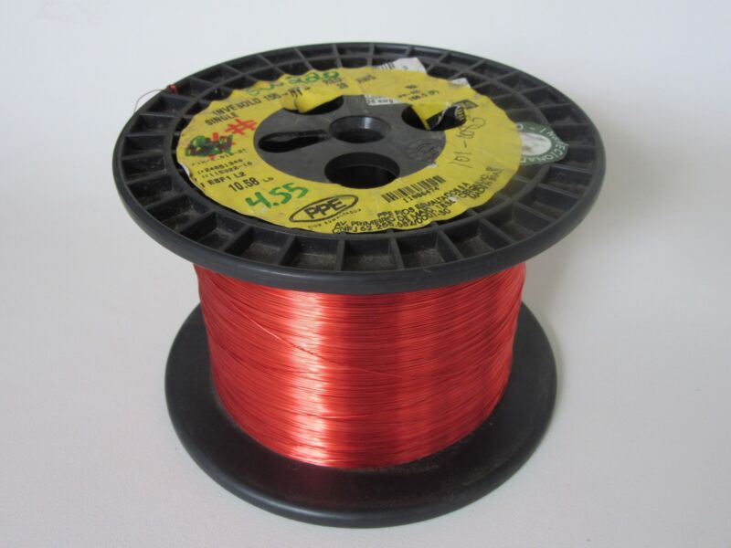 28 AWG  4.55 lbs. PPE INVESOLD 155 Enamel Coated Copper Magnet Wire