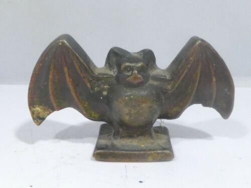 RARE ADVERTISING ITEM : AN EARLY  TURN OF THE CENTURY IRON BACARDI BAT