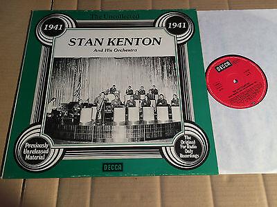 STAN KENTON - THE UNCOLLECTED - 1941  - LP DECCA  HSR-118 6.23559 AG - 1978