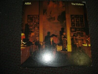Abba -= The Visitors 1981 USA Orig. Lyrics VG/VG
