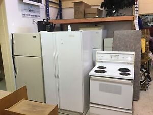 Fridges and stove