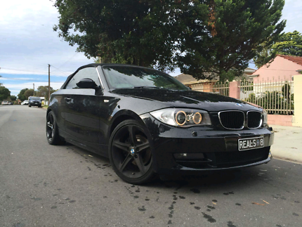 Bmw 120i convertible Swap for Boat or Chauffeur Car Rosewater Port Adelaide Area Preview