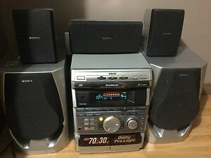 Sony 5.1 dolby digital system 3 cd changer