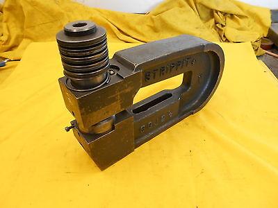 C Frame Punch Sheet Metal Hole Press Brake Tool Unit Strippit Usa 8cj 2 12