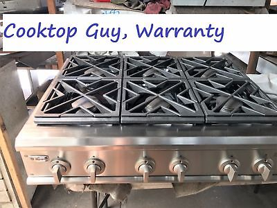 36 Ge Monogram Stainless Gas Range Top 6 Or 4 Grill