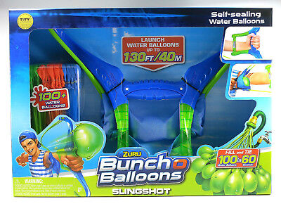 Zuru Bunch o Balloons Slingshot with 100+ water balloons NEW IN BOX - New & Seal