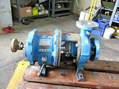 Summit 2196 Sto 2x3-6 Stainless Pump 3191049j Used