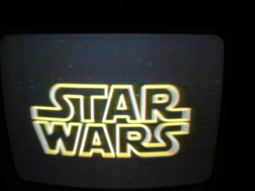 Prerecorded VHS tape (sold as used blank) Star Wars 1977 War of the Worlds 1953