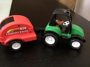 Tractor and trailer toy Mitchelton Brisbane North West Preview