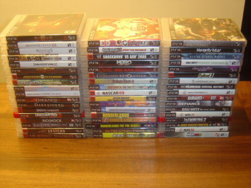 PlayStation 3 Lot of 52 Games PS3 Bundle