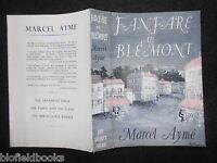 Original Vintage Rowland Dustjacket (only) For Fanfare In Blemont By Marcel Ayme -  - ebay.co.uk
