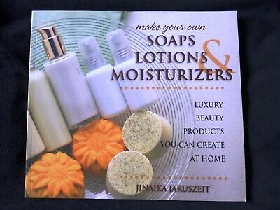 Make Your Own Soaps Lotions & Moisturizers SALE NEW SLIGHTLY IMPERFECT