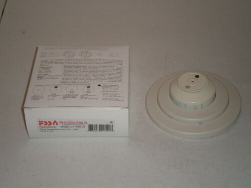 New! Fire Detection Devices CF165W Heat Detector 165F Fixed Temperature FreeShip