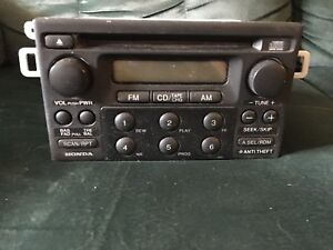 Radio HONDA Civic accord crv