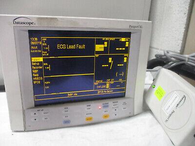 Datascope Passport Xg Patient Monitor Spo2 Ecg Nibp Temp 11