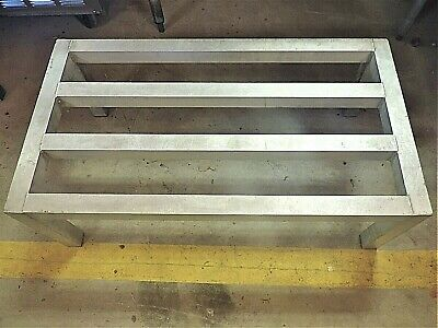 Used Advance Tabco Aluminum Dunnage Rack Heavy Duty 36