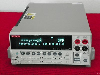 Keithley 2420-c High-current Sourcemeter Wcontact Check