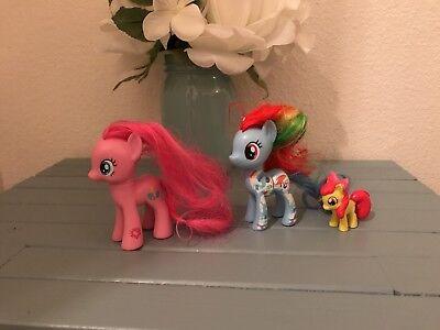 Hasbro My Little Pony Toy Horses LOT - My Little Pony Hasbro