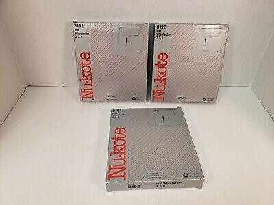 Ibm Wheelwriter Ribbon 3 5 6 Nukote Lot Of 3