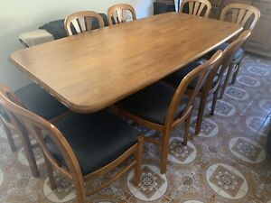 Solid Timber Dining Table-Great condition!