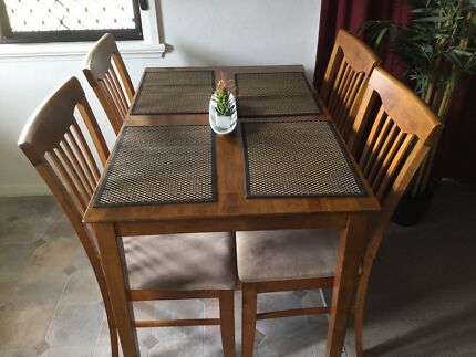Timber Table And 4 Chairs