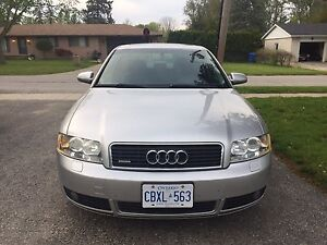 2005 Audi A4 1.8T 6 speed manual with Quattro