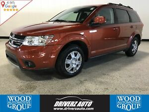 2012 Dodge Journey SXT & Crew FRONT WHEEL DRIVE, BLUETOOTH, USB