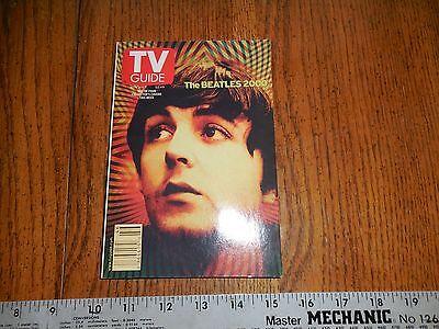 Paul McCartney   TV Guide Nov 11-17,2000 McCartney on Cover Beatles 2000