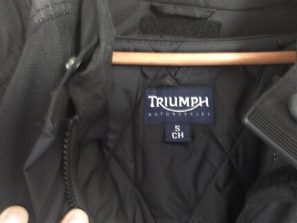 Triumph riding jacket