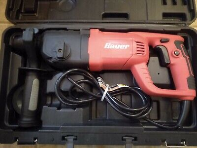 Bauer 1 Sds Plus Variable Speed Pro Rotary Hammer Drill