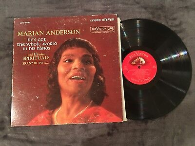 Marian Anderson / He's Got the Whole World in His Hands - Vinyl LP Album Record