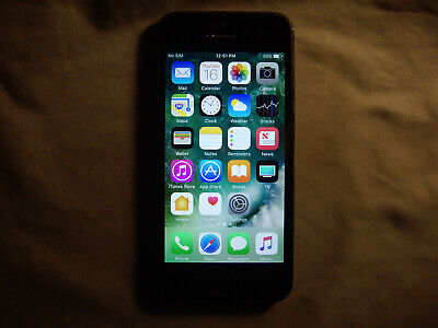 Black/Gray Apple iPhone 5 GSM Unlocked 32GB Model A1428                       p2
