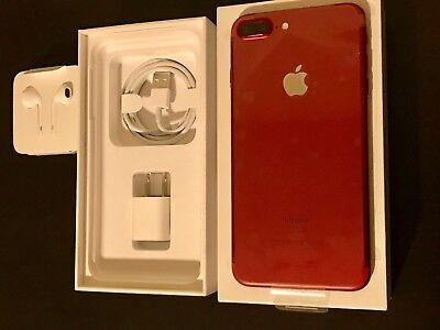 Apple iPhone 7 Plus (PRODUCT) RED - 256GB - (Unlocked) iOS 10