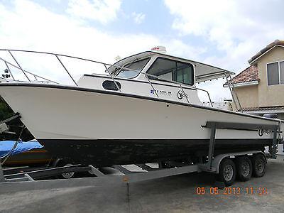 Pilot house fishing boat used c hawk 29 pilot house for for Pilot house fishing boats