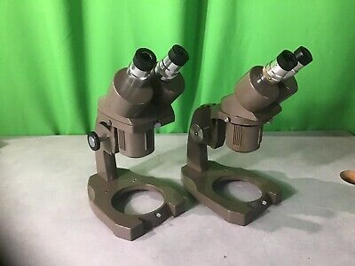 Two Swift Stereo Ninety Microscope Dissecting