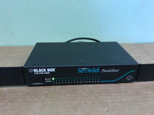 Black Box KV 11085A ServSwitch Panther KVM switch  - 8 ports