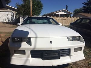 FOR SALE 91 Chev Camero Rs