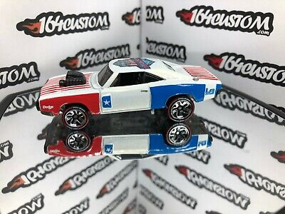 Hot Wheels ID - 70 Dodge Charger R/T - SUPER CUSTOM - Harley-Davidson  - LOOSE