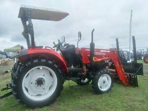 YTO Tractor MF554 Rops– 4WD – 55HP – FRONT END LOADER. Inc.GST Mulgrave Hawkesbury Area Preview