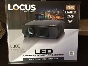 4K led android smart projector