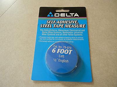 Deltabiesemeyer 79-070 6 Lh Tape 12 English Markings 2-5