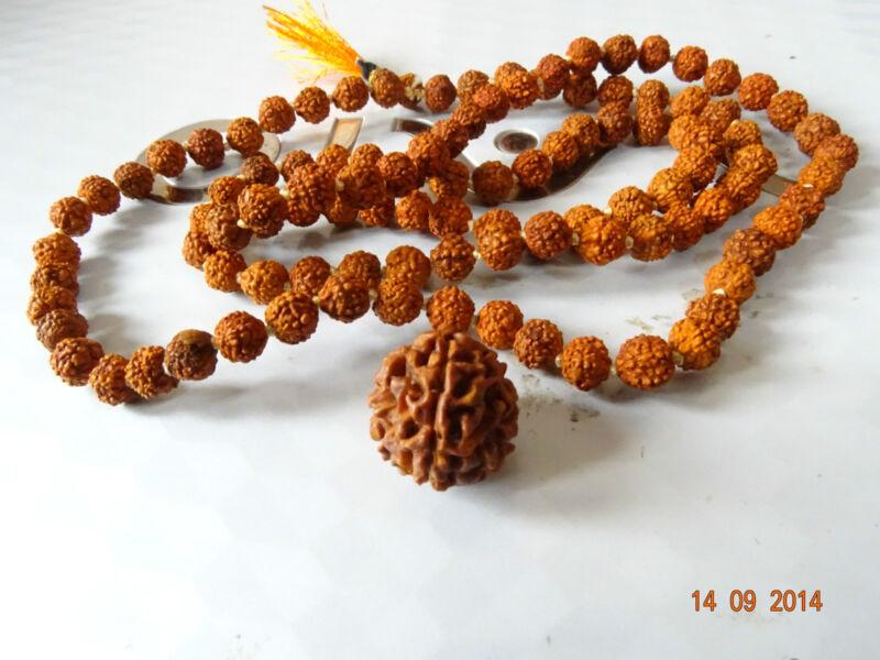 Energized Natural Original Round JAVA One 1 Ek Mukhi Face Rudraksha Bead 15mm #1