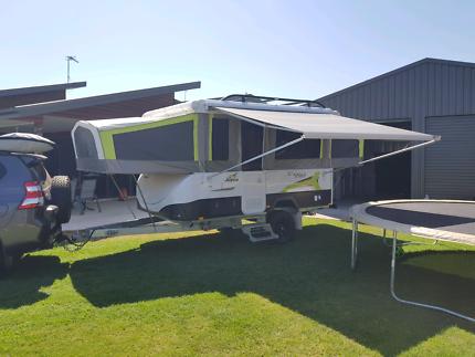 2016 Jayco Eagle Outback - extended Aframe - GVM upgrade