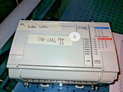 Allen Bradley 1764-24bwa B 1764-lrp C Frn 11 Micrologix 1500 With Lrp Read